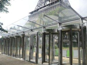 Sécurisation de la tour Eiffel