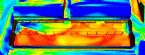 Etude du confort piétonnier - vent - simulation cfd