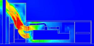 Modélisation CFD - calcul de pertes-de-charge-prototype - - tube de courant - industrie