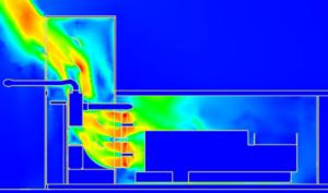 Modélisation CFD - calcul de pertes-de-charge-prototype
