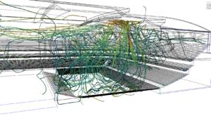 Thermal-CFD-Stadium-Analysis - courant d'air dans un stade
